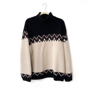 Banana Republic Cabinwear Wool Chunky Sweater